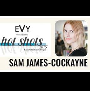 Orbe Sam James 2015 Evy Hot Shot award