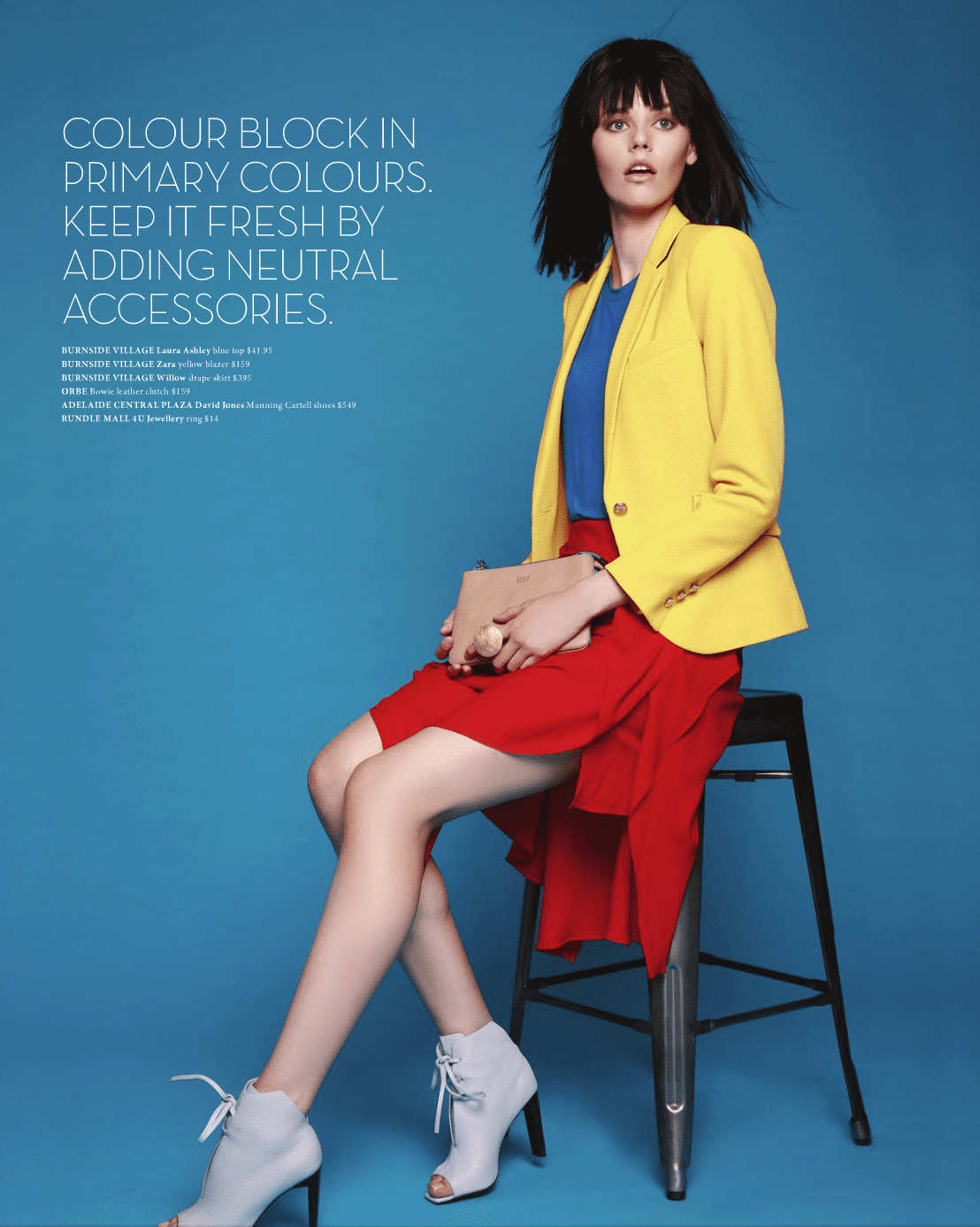 Hair by Sam for SA Style – Issue 21, Autumn 2015