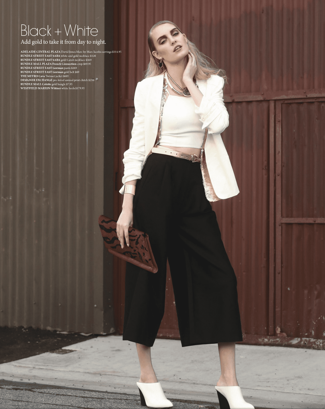 Hair by Abbey for SA Style – Issue 19, Spring 2014