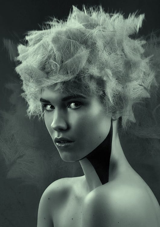 Sam James Cockayne FINALIST 2016 AHFA SA Hairdresser of the Year with Collection 'Perfectly Broken'