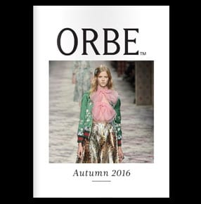 Orbe magazine cover Autumn 2016