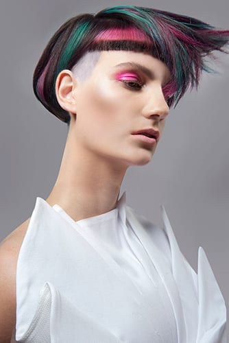 Sam: NATIONAL FINALIST Goldwell Colour Zoom Creative Colourist