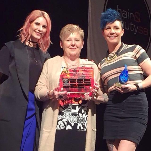 We are SO PROUD of our awesome team who won many awards last night at the SA 2016 Hair and Beauty Awards.  We came home with: