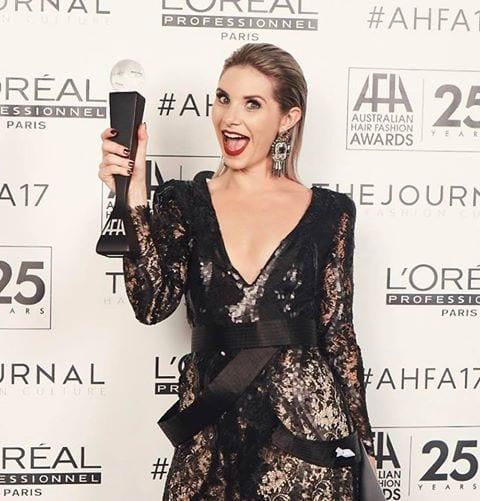 Sam - 2017 AHFA SA/TAS Winner