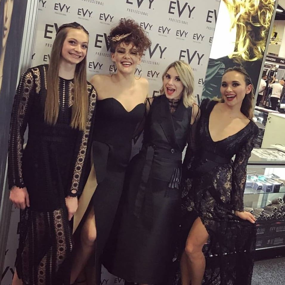 Sam with EVY - Hair Expo 2017