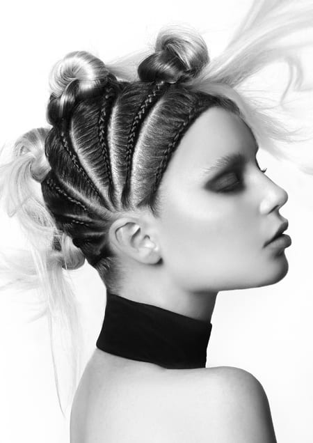 Sam James Hair Expo 2017 SA HAirdresser of the Year Finalist