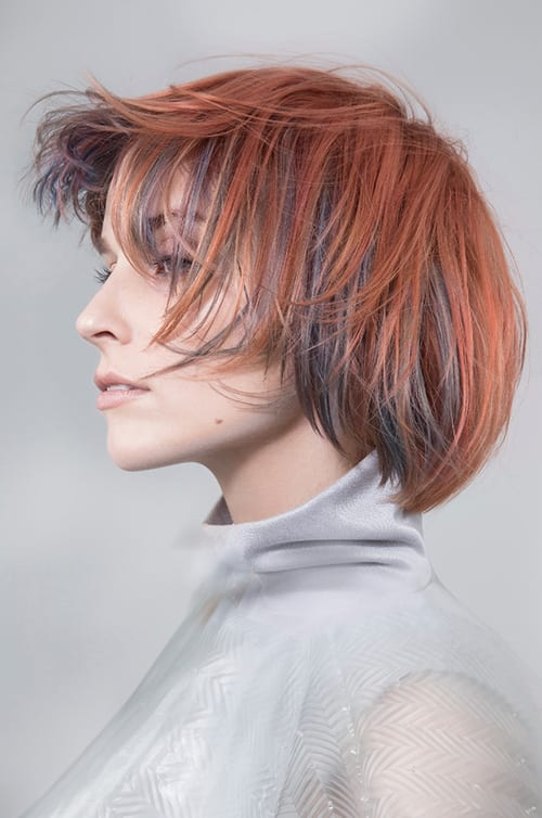Sam James – National Finalist Goldwell Colour Zoom Award 2018