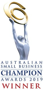 2019Australian Small Business Champion Awards Winner Logo