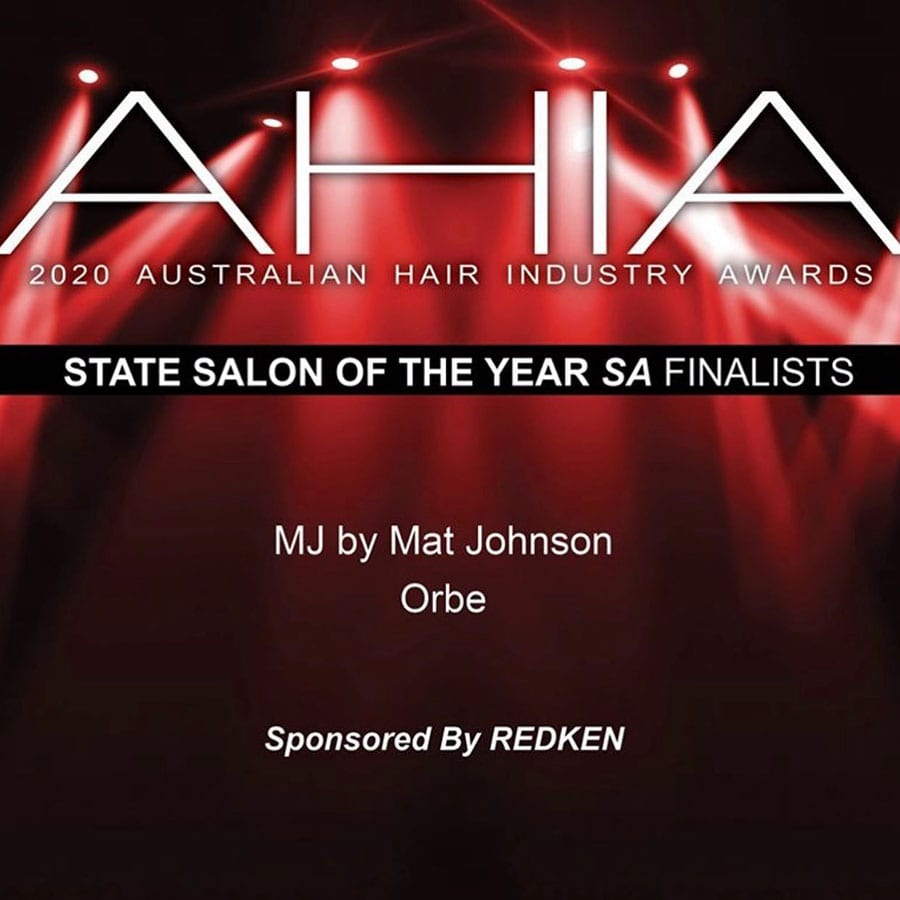 Orbe Hair & Beauty 2020 AHIA Finalist: State Salon of the Year (SA)