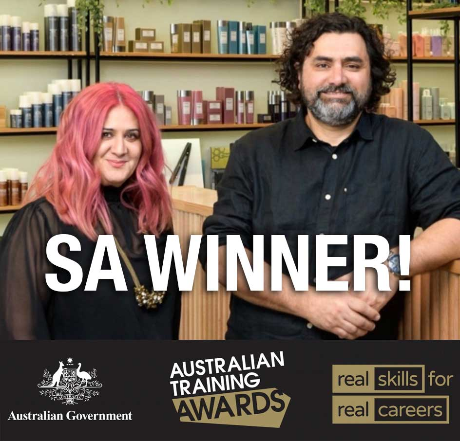 Orbe is the SA Representative for the Small Employer Award in the 2020 Australian Training Awards