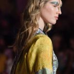 Mercedes-Benz Fashion Week Camilla Orbe hair and makeup