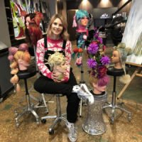 SALA Exhibition Where Brushes Meet the Arts - Sam James with her collection